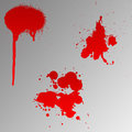 Free Blood Splats Royalty Free Stock Photos - 6234018