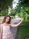 Free Beauty Girl Teenager Outdoor. Royalty Free Stock Photo - 6239145