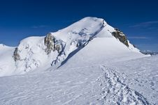 Free Mont Blanc Mountain, Top Of Alps Stock Images - 6230084
