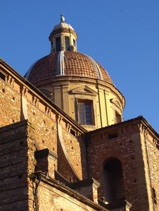 Free Dome Of Cestello Church Stock Image - 6230141