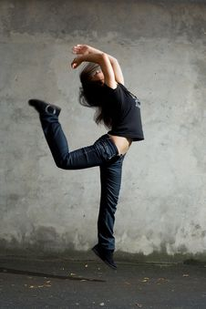 Free Dancer. Royalty Free Stock Photography - 6230487
