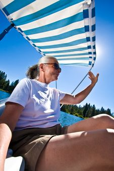 Free Woman Boating Royalty Free Stock Photography - 6230557