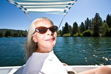 Free Woman Boating Royalty Free Stock Photography - 6230657