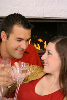 Free Romantic Couple Stock Photography - 6230862