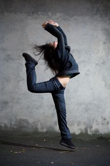Free Dancer. Stock Images - 6230964