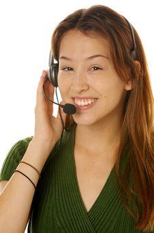 Free Beautiful Customer Service Stock Image - 6231031
