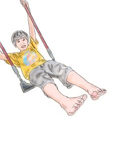 Free Boy In Swing Stock Images - 6231134