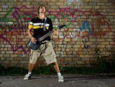 Free Rockstar. Stock Photo - 6231170