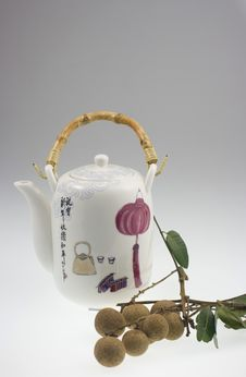 Chinese Teapot Royalty Free Stock Image