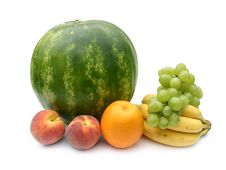 Free Watermelon And Fruit Royalty Free Stock Image - 6231536