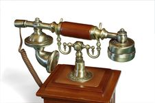 Free Old-fashioned Telephone Royalty Free Stock Images - 6231759