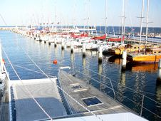 Free Catamaran Deck Royalty Free Stock Image - 6233206