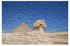 Free Sphinx And Pyramid Royalty Free Stock Photos - 6233228