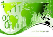 Corporate Business Globe Background Stock Photo