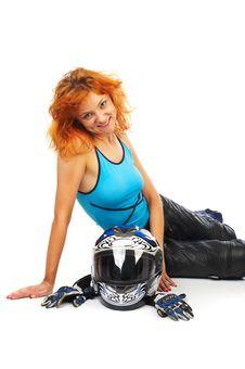 Free Motobiker Stock Photography - 6234882