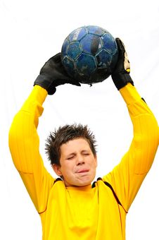 Free Footballer Stock Image - 6235221