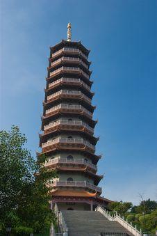 Free Pagoda Stock Image - 6235991