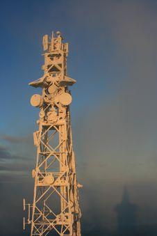 Free Antenna Mast On Jedlova Hill Royalty Free Stock Photos - 6236178