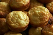 Sweet Cheese Muffins Royalty Free Stock Photos