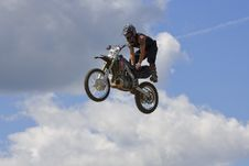 Free Stunt Biker Stock Image - 6236411