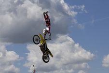 Free Stunt Biker Stock Photo - 6236430