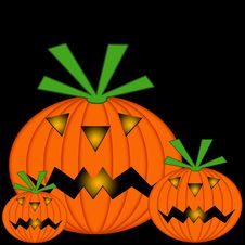 Free Jack O Lanterns Royalty Free Stock Photo - 6236445