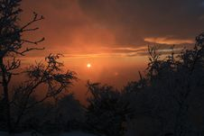Free Winter Sunset, No.7 Stock Photography - 6236452