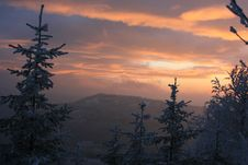 Free Winter Sunset, No.8 Stock Images - 6236454
