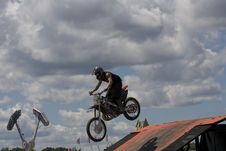 Free Stunt Biker Stock Image - 6236481