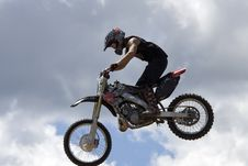 Free Stunt Biker Royalty Free Stock Image - 6236496
