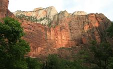 Free Zion National Park Stock Image - 6236721