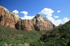 Free Zion National Park Stock Image - 6236731