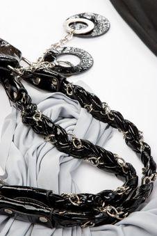 Free Part Of Black Bag Royalty Free Stock Photo - 6236745