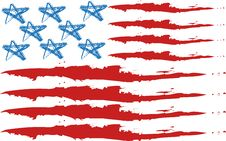 Free USA Flag Royalty Free Stock Photography - 6236997