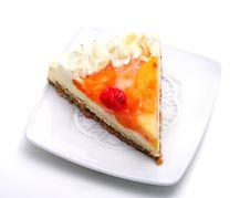Dessert - Fruit Cake Royalty Free Stock Photo