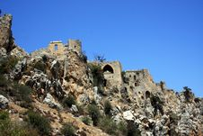Free Saint Hilarion Castle Stock Photo - 6237840