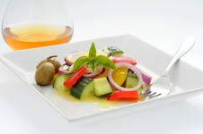 Free Greek Salad Stock Image - 6238091
