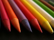 Free Colour Pencils Royalty Free Stock Image - 6238676