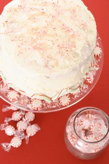 Free Beautiful Bakery Peppermint Cake Stock Photos - 6238953