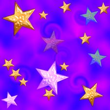 Free Stars Seamless Tile Stock Photography - 6239412