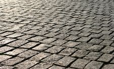 Old Pavement 2 Royalty Free Stock Photo