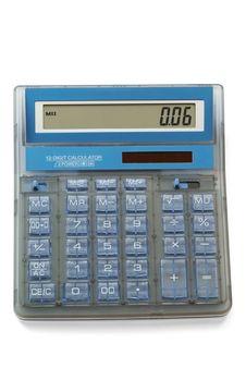 Free Calculator Royalty Free Stock Image - 6239846