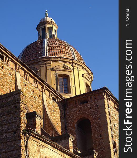 Dome of Cestello church