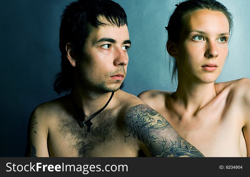 Beuauty couple