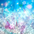 Free Winter Watercolor Background With Snowflakes Stock Images - 62312784
