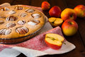 Free Apple Pie In Baking Dish Royalty Free Stock Photos - 62397288