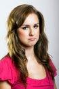 Free Portrait Of A Sad Woman Stock Photo - 6247990