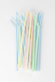 Free Straws In A Bundle Royalty Free Stock Image - 6240056