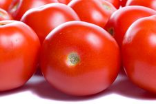 Free Close-up Many Ripe Tomatoes Royalty Free Stock Photos - 6240148