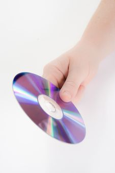 Free Hand Holding A Dvd Stock Photo - 6240190